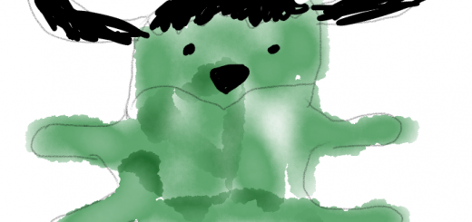 Artist rendering of a Frankenstein Wapuu